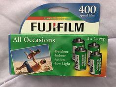 New (Open Box) Fuji Superia X-TRA ISO 400 ASA 35mm Film/ 24 Exp-4 Pack  | eBay