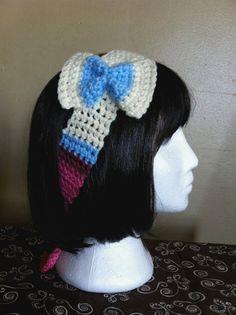 Shiny Sylveon/Ninfia Pokemon Headband by ShopOfManyThings on Etsy, $12.00 Little Girl Rooms, Little Girls, Crochet Cross, Crochet Hats, Geek Fashion, My Pokemon, Crocheting, Headbands, Crochet Patterns
