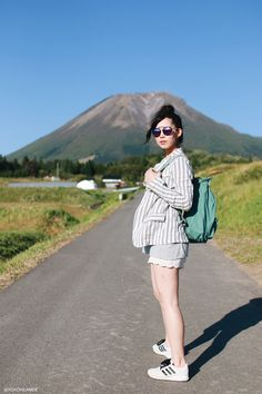 Japanese Fashion Blogger ,Mizuho K,xoxohilamee ootd,Unglid-stripe jacet,monkey tee,lace shorts,adidas sneakers,KANKEN backpack,zeroUV sunglasses,Light in the box Hair pins#streetstyle #Japanesefashion #blogger #ootd #outfit #xoxoHilamee #MizuhoK #ストリートスナップ #コーデ #ファッションブロガー #コーディネート #ファッション
