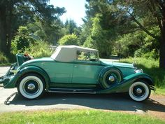 1934 Packard 1101   I call her the Green Hussey