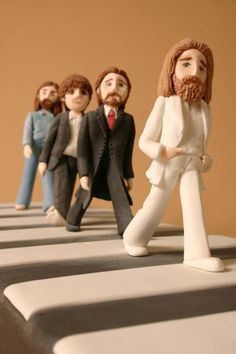 Beatles Abbey Road Cake    posting this simply because it looks incredible.