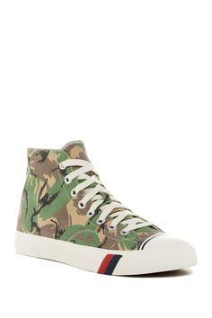 Royal High-Top Sneaker