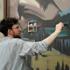Onur Street Artists, Artist At Work