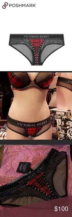 Victoria's Secret x Balmain panties This is only for the panties. Im also selling the matching bra do please check the rest of my closet out. No holds.  No trades. Balmain Intimates & Sleepwear Panties