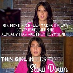 The Next Step!! Slow down Michelle!! Stephanie