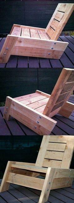 Diy pallet furniture idea #wooden #furniture #diy