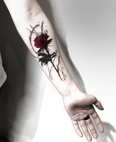 creative rose tattoo © - creative rose tattoo © tattooist Baegigrim 💓💓💓💓💓💓 Ver - Informations About kreatives Rosentattoo © - kreatives Rose Rose Tattoos For Men, Small Arm Tattoos, Arm Tattoos For Guys, Forearm Tattoos, Sexy Tattoos, Body Art Tattoos, Hand Tattoos, Sleeve Tattoos, Tattoos For Women