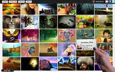 PSYKOPAINT: Convierte tus fotografías en obras de arte ~ Juegos gratis y Software Educativo