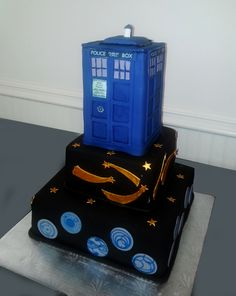 - Dr. Who Grooms cake