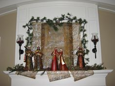 Our mantel 2011