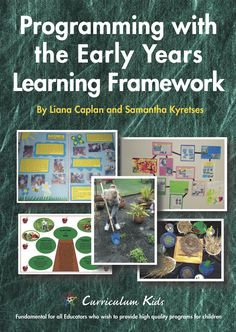 This book provides Educators with knowledge and clarification of five curriculum approaches; Emergent Curriculum, Reggio Emilia, Project Approach, Integrated Curriculum, and Inclusive Curriculum. Play Based Learning, Early Learning, Early Years Framework, Eylf Learning Outcomes, Preschool Set Up, Preschool Ideas, Early Childhood Australia, Emergent Curriculum, Educational Programs