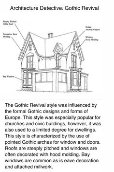 The Helpful Art Teacher Architecture Detective What Types Of Can You Find In Gothic Revival