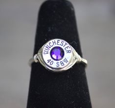 Hunting Bullet Ring Bullet Jewelry 40 by StandingGroundDesign, $49.99