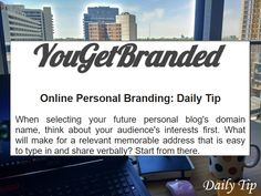 Feel Confident Online With Your Personal Branding Marketing Topics, Social Media Marketing, Digital Marketing, Reputation Management, Social Media Pages, New Relationships, New Job, Personal Branding, Thinking Of You