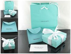 The famous Tiffany & Co. packaging