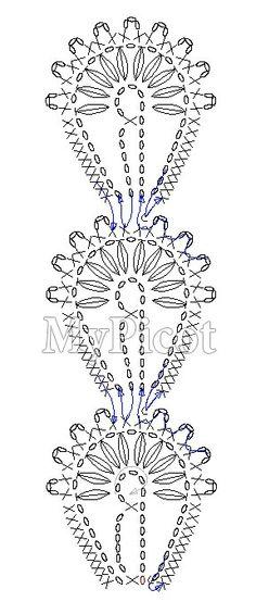 Watch This Video Beauteous Finished Make Crochet Look Like Knitting (the Waistcoat Stitch) Ideas. Amazing Make Crochet Look Like Knitting (the Waistcoat Stitch) Ideas. Crochet Motif Patterns, Crochet Lace Edging, Crochet Diagram, Crochet Chart, Thread Crochet, Love Crochet, Beautiful Crochet, Crochet Doilies, Crochet Flowers