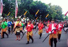 Javanese soldier #indonesiaculture