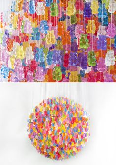Gummi Bear chandelier by Jellio