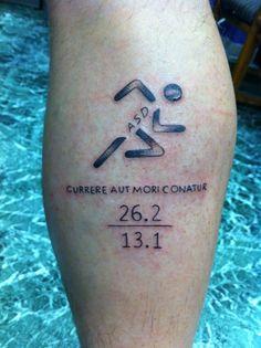 runner tattoos - Google Search