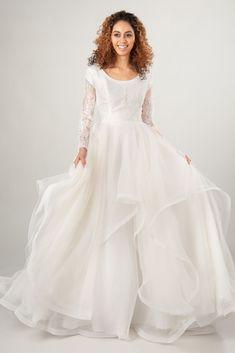 20 Long Sleeve Modest Wedding Dresses – LatterDayBride