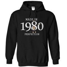 Made in 1980- Man to perfection T Shirts, Hoodies Sweatshirts. Check price ==► https://www.sunfrog.com/Birth-Years/Made-in-1980-Man-to-perfection.html?57074