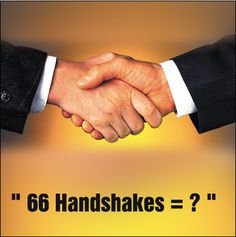 The Handshake Problem  At a New Year party, everyone shook hands with everybody else. There were 66 handshakes. How many people were at the party?