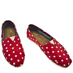 toms+red+polka dots? Oh yes.