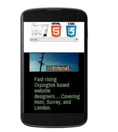 Mobile friendly website design!