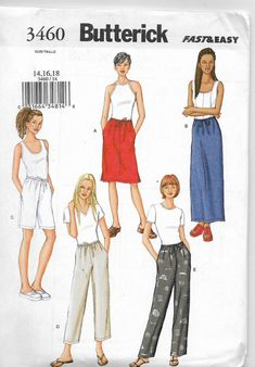 BUTTERICK 4562-LADIES SCOOP NECK-RAISED WAIST-ABOVE ANKLE DRESS PATTERN XS-MD FF