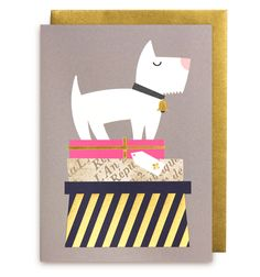 Dogs & Gifts Greeting Card - Lagom Design