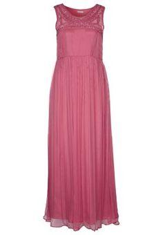 GRACE - Fotsid kjole - rød