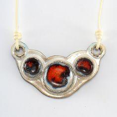 Ceramic Neckalces – Ceramic pendant – a unique product by Zielonepalce on DaWanda