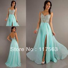 #Vestidos ❤️ #Moda  #Dresses Mint Prom Dresses, Gala Dresses, Quinceanera Dresses, Dance Dresses, Homecoming Dresses, Bridesmaid Dresses, Bridesmaids, Elegant Dresses, Pretty Dresses