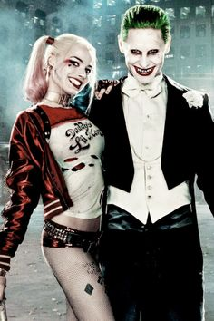 ✔ Couple Costumes For Halloween Joker Harley And Joker Love, Joker Y Harley Quinn, Harley Quinn Halloween, Harley Quinn Cosplay, Harely Quinn And Joker, Margot Robbie Harley, Arley Queen, Joker Halloween Costume, Harey Quinn