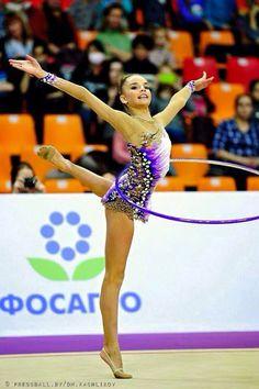 Dina Averina (Hoop) 2015 Grand Prix Moscow Averina Twins (fan club)