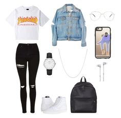 """polyvore"" by jesy-smith on Polyvore featuring mode, Topshop, Vans, Eastpak, Forever 21, CLUSE, Fremada, Casetify et Master & Dynamic"