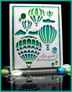 Soaring Balloons FS445 by justwritedesigns - Cards and Paper Crafts at Splitcoaststampers