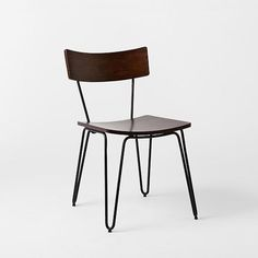 boys desk- legs might be too wide? Hairpin Leg Dining Chair | west elm
