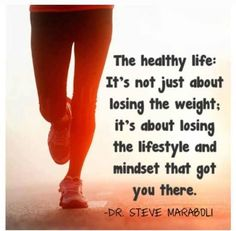 Healthy life motivation...