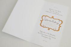 Convite de casamento Gabriela & Rodrigo