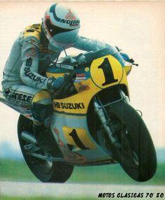 Franco Uncini Suzuki 500cc