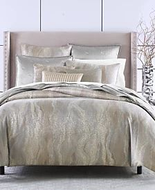 Donna Karan Home Moonscape Bedding Collection & Reviews - Bedding Collections - Bed & Bath - Macy's Down Comforter, Queen Comforter Sets, King Comforter, Queen Duvet, Taupe Comforter, Duvet Sets, Eva Longoria, Hotel Collection Bedding, Bedding Shop