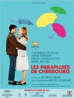 Les Parapluies de Cherbourg: restored version poster (2013)