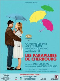 Les Parapluies de Cherbourg: restored version poster (2013)