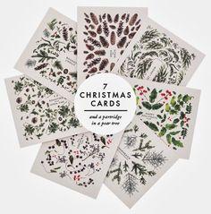 pretty christmas cards