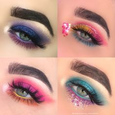 20 Ideas Eye Shadow Tutorial Huda Beauty Obsessions For 2019 Eye Makeup Steps, Eye Makeup Art, Natural Eye Makeup, Huda Beauty Eyeshadow Palette, Eyeshadow Dupes, Eye Makeup Red Dress, Blue Makeup, Electric Palette Looks, Urban Decay Eyeliner