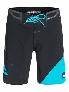 Men's 4 Way Stretch Shorts, Seamless, Repels Water Boardshorts - Quiksilver AG47 #Quiksilver #BoardShorts