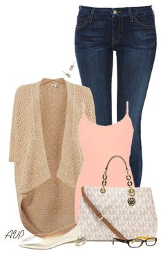"""""""9/1/15"""" by amy-phelps ❤ liked on Polyvore featuring Koral, Salsa, BKE core, Michael Kors, Lane Bryant, J.Crew and Coach"""
