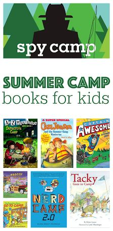 8 fun reads to get your kids excited about heading off to camp.