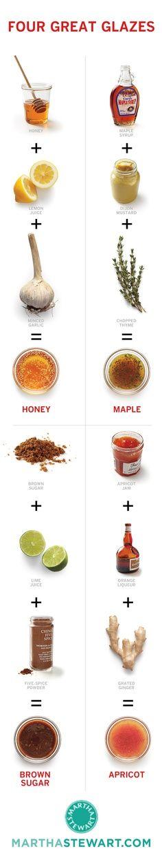glaseados naturales y deliciosos